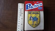 Nevada Donkey Mule Travel Souvenir Patch - Brand New - Free Shipping!