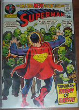 "SUPERMAN #237 (VG) ""Superman -- Enemy of Earth!"" DC 1971 LQQK!"