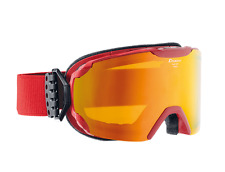 Alpina Skibrille Pheos MM red/MM red S2 Gr. L50 UVP €99,95
