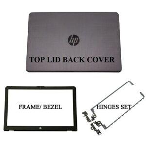 HP 250 G6 255 G6 15-BS 15T-BS 15-BW 15Z-BW Grey LCD Back Cover Front Bezel Hinge
