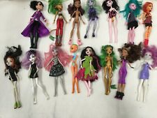Job Lot Of Monster High Dolls+Accessories Mixed Condition Some Parts Missing#760