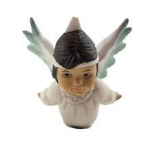 Native American Angel Christmas Around The World Ornament 1994 Short Hair