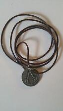 Assassins Creed Syndicate One Shilling Pendant Medallion Vintage Bronze Rare