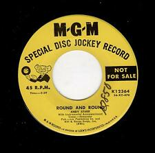 CLASSIC ROCKABILLY-ANDY STARR-MGM 12364-ROUND AND ROUND/GIVE ME A WOMAN