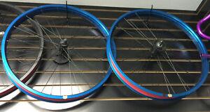 "Beach Cruiser 26""x 57mm Bicycle Fat Front & Rear wheel coaster brake: Blue Black"