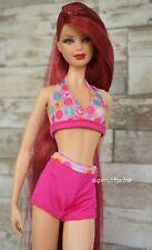 Puppy Water Park Graphic Barbie Silhouette Bikini