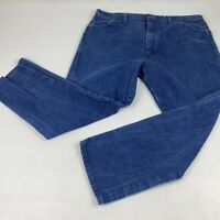 Vintage Wrangler Mens Jeans Size 42 x 34 (Actual 42x30) Blue Denim Cowboy  USA