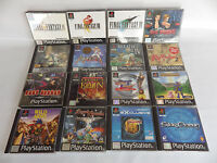 Super lot de RPG rare PS1 playstation Final fantasy Alundra wild arms BOF FF8