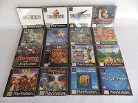 Super lot de RPG rare PS1 playstation Final fantasy Alundra wild arms BOF FF8