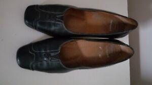 SCHOLL BACKGUARD LADIES Black  COMFORT  court shoe SHOES   SIZE 5  (38) vgc