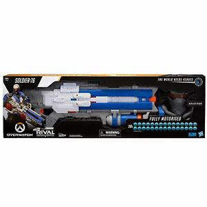 NERF RIVAL OVERWATCH SOLDIER 76 ORANGE COFFEE TOY