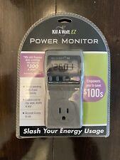 P3 KILL A WATT EZ Power Usage Voltage Meter Monitor P4460, Free Shipping!
