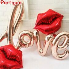 Gift Ligatures LOVE Letter Foil Balloon Anniversary Wedding Valentines Day Party