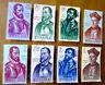 EBS Spain 1962 Explorers of America - Forjadores de América 1346-1353 MNH**cv$34