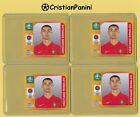 ⚽️4x Panini Euro EM 2020 Tournament Edition CRISTIANO RONALDO Sticker #676