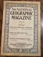 National Geographic Magazine - July 1918 - Under The Heel Of The Turk