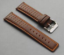 Diloy  Echt Leder Uhrenarmband 22mm 24mm  watch strap