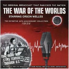 Orson Welles - The War Of The Worlds  The Definitive 80th Anniversary [CD]