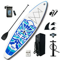 """Inflatable SUP Stand Up Paddle Board 10'6x33""""x6"""" Surfboard /Complete accessories"""