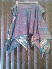 ~tav~ 3 Skirts ~ WHOLESALE DIAMOND CUT WRAP ~ Boho Fairy Pixie Asymmetric ~ OS