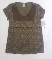 Volcom Baby Doll Top in Brown. Brand New! ---- Was £45