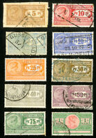 Germany Stamps VF Used Lot of 10 Revenues