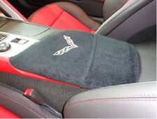 Black Armrest Center Console Cover Corvette C7 KACORC7B Seat Armour