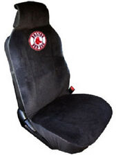 Boston Red Sox Embroidered Seat Cover  (New) Car Auto MLB Black Truck SUV CDG