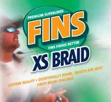 Fins XS Extra Smooth Braid Line 10 LB, 300 Yards, Coral-Orange Fishing Line USA