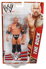 WWE Mattel Basic Series 2012 The Rock Wrestling Action Figure