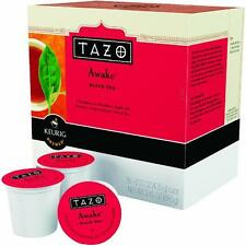 1 Case Keurig K-Cup Starbucks Single Serv. Tazo Awake Black Tea 16 Cups/Case