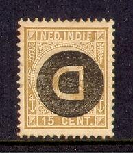Ned indie  dienst kopstaand nr 3f gebruikt,  used