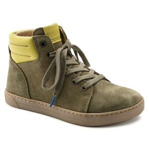 Birkenstock Suede Leather BARTLETT Khaki BNIB 1008911