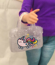 Barbie Mattel UNICORN KAWAII Purse Bag For Doll Fashion Accessory Diorama New