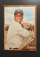 1962 Topps #358 Tommy Davis Los Angeles Dodgers EX