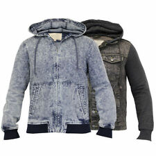 Brave Soul Button Hooded Coats & Jackets for Men
