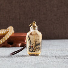 Inner Paint Snuff Bottle Chinese Antique Ornament Elegance Sentiment Landscape