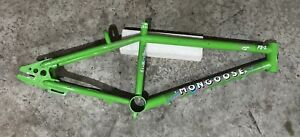 OG Green 86' Mongoose FS1 Freestyle Triple Butted CR-MO Frame 80s Old School BMx