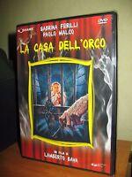 LA CASA DELL'ORCO DVD NUOVO SIGILLATO LAMBERTO BAVA SABRINA FERILLI