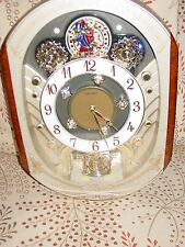 HTF PERPETUAL MOTION CHRISTMAS MELODY JEWEL SEIKO WALL CLOCK MUSICAL