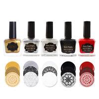BORN PRETTY 15ml Nail Stamping Polish Printing Nail Art Manicure Stamp Varnish