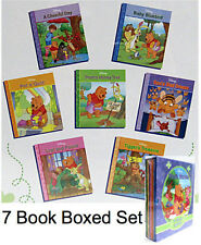 WINNIE THE POOH 7 Book Library Box Set Pooh Stories from the Hundred Acre Wood