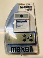 Maxell iPod Remote Control New iPod 3G 4G Photo Mini Model P-1