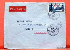 REUNION CFA FRANCE 8F NANCY  SUR LETTRE   PE50