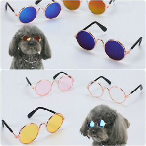 Small Cat Funny Punk Sunglasses Mini Dog Glasses Pets Kitten Posing Costume