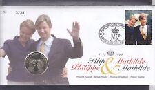 numisletter belgie zgelnr 2856filip en mathilde 1999  nr 3238