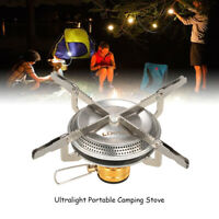 Outdoor Camping Gas Stove Portable Ultralight Hiking Picnic BBQ Cooking Burner