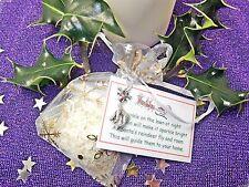 Noël magique Renne alimentaire avoine paillettes festive Santa Craft charme rudlolf * *