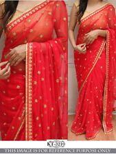Saree Sari Indian ethnic Pakistani Designer Partywear Bridel Wedding Traditional