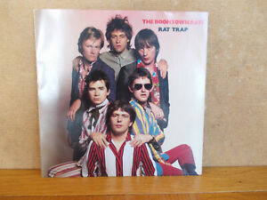 """Vinyl 7"""" 45 rpm. The Boomtown Rats, Rat Trap- on Ensign ENY 16."""